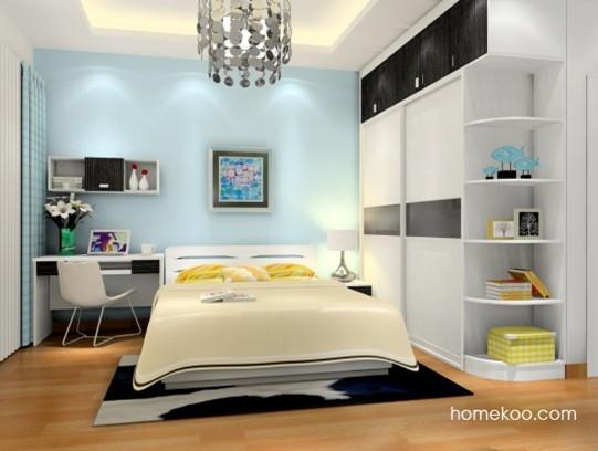 现代简约风格房间摆设图片