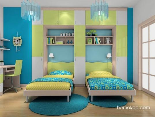 儿童卧室装修效果图大全2014图片
