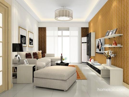 简约家居软装欣赏 四款布艺沙发导购