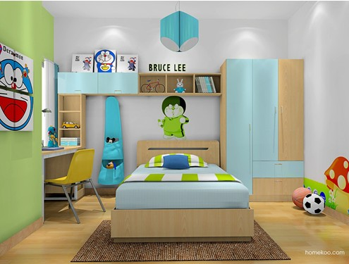 小户型儿童房装修图片 为孩子打造舒适的世界
