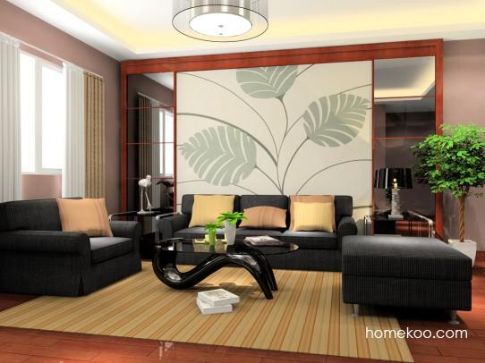 客厅沙发图片 打造清新自然客厅