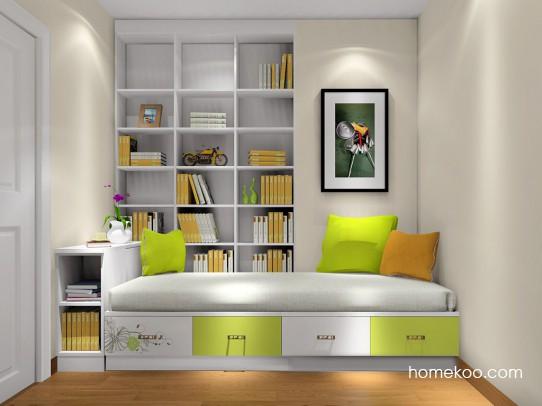 家庭书房装修效果图