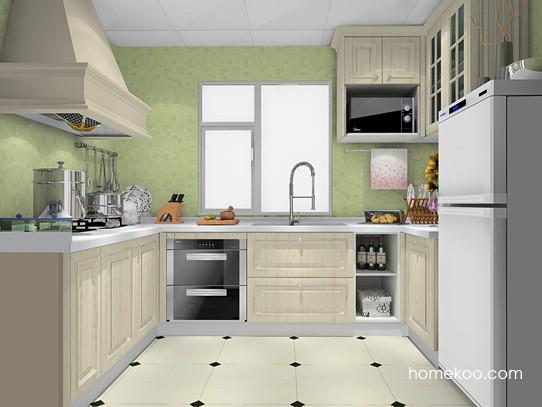 6�O门窗相对平窗1扇门厨房