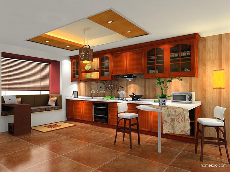 5-8平米整体厨房装修详细价格