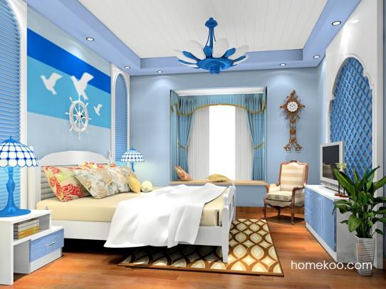 地中海风格装修图片 感受蓝色味道