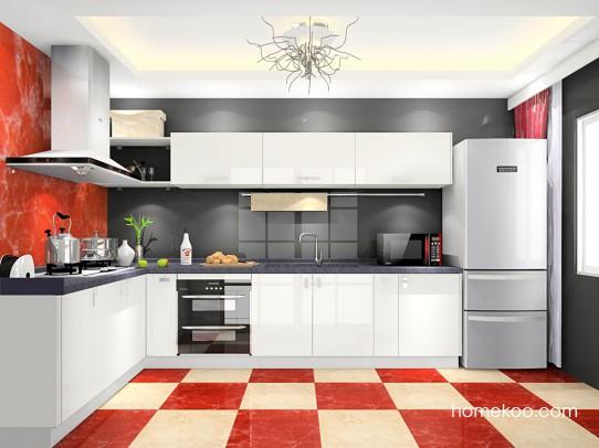 小厨房如何装修,让蜗居生活更幸福