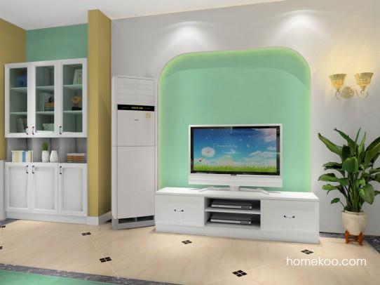 电视机背景墙效果图 打造客厅亮丽风景线