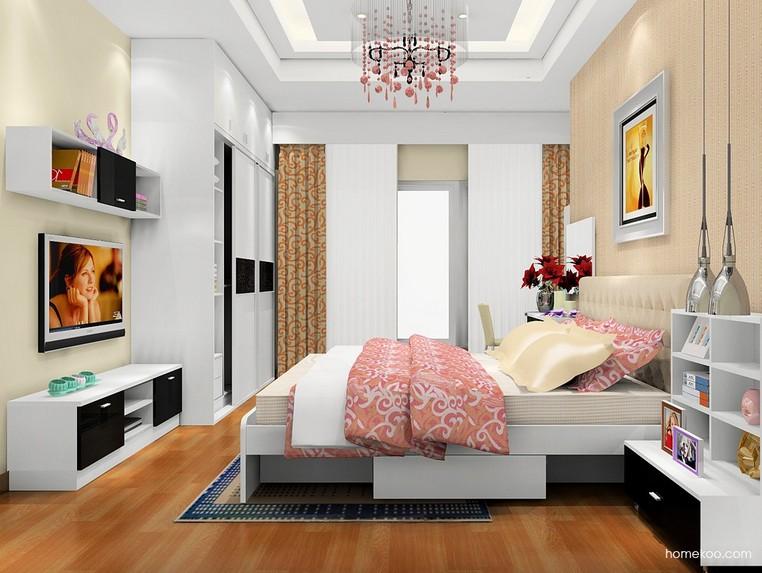 两居室装修效果图