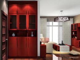 中式客厅装修效果图 领略质朴东方风