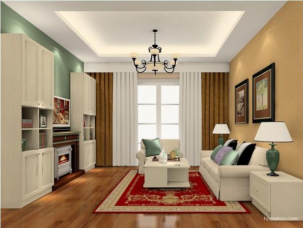 客厅装修颜色搭配有哪些技巧?