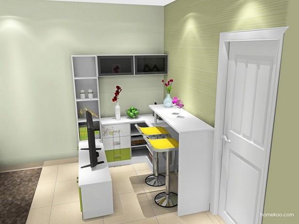 小空间的餐厅设计效果图