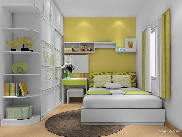 两室一厅装修效果图大全2014图片