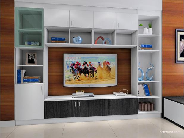 现代时尚电视柜图片