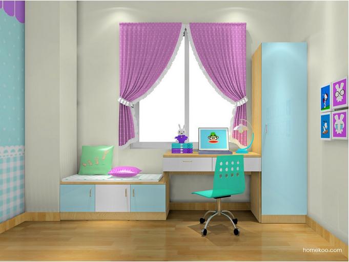 家装窗帘效果图