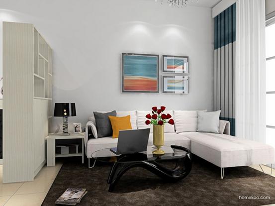 小客厅装修效果图大全2014图片