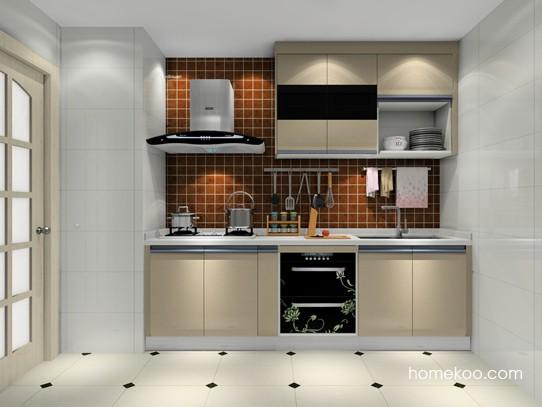 5�O2扇门厨房