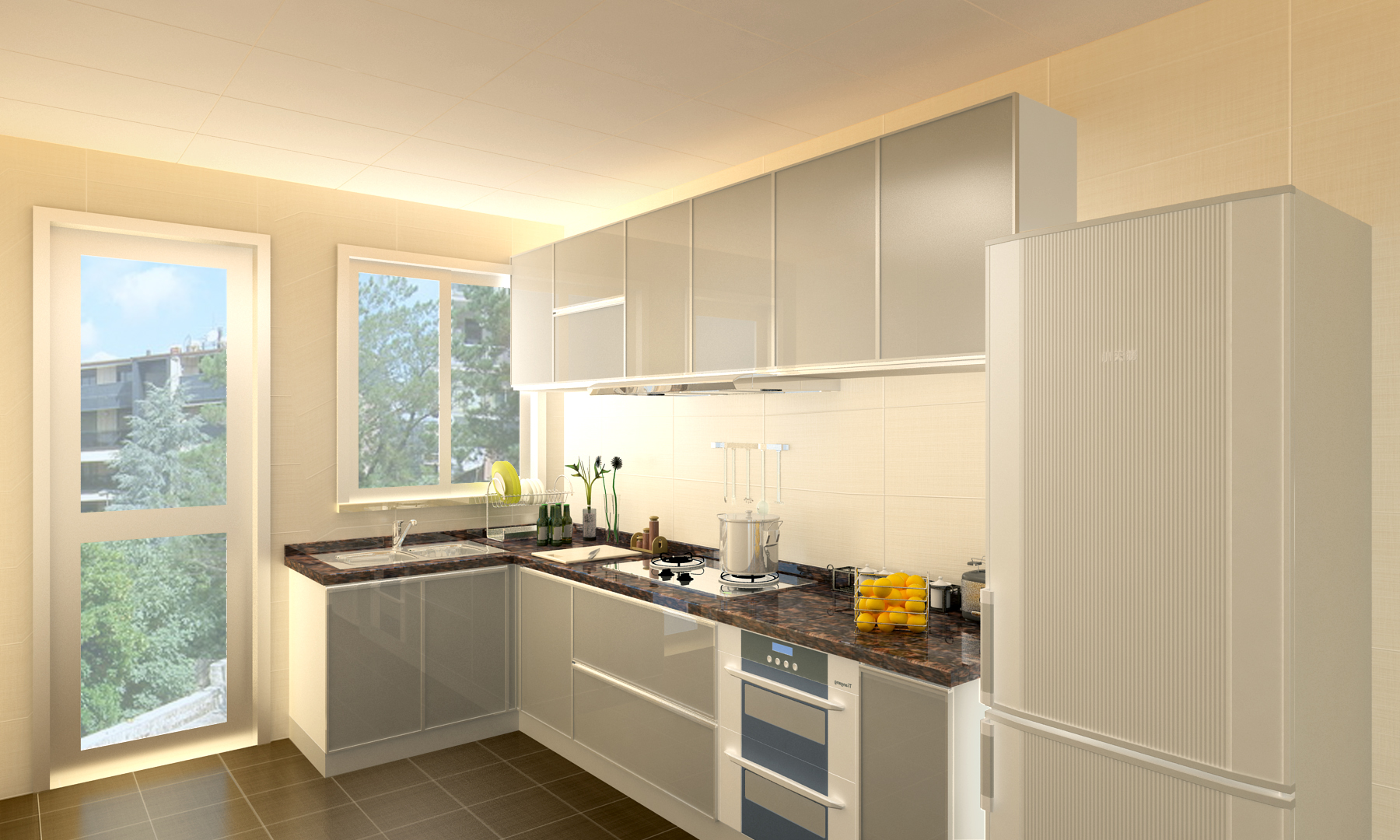 厨房吊柜如何安装