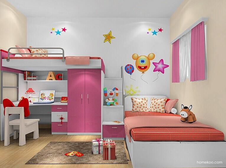 儿童卧室装修风水的禁忌