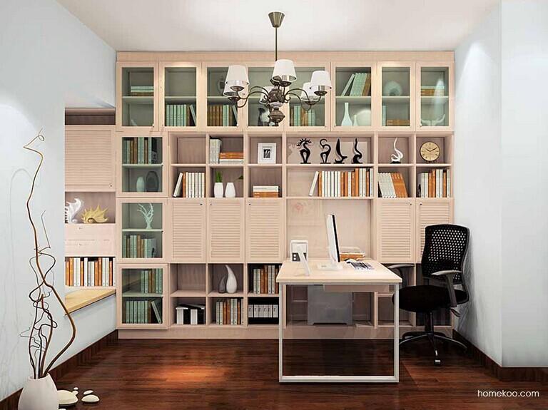 全新欧式书柜设计【俘虏你的心】