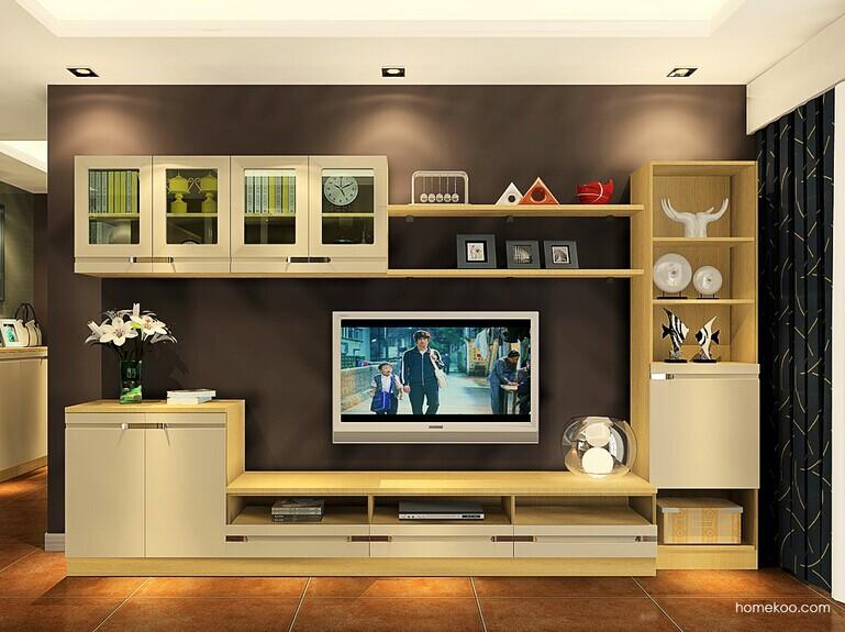 欧式电视柜高度是多少