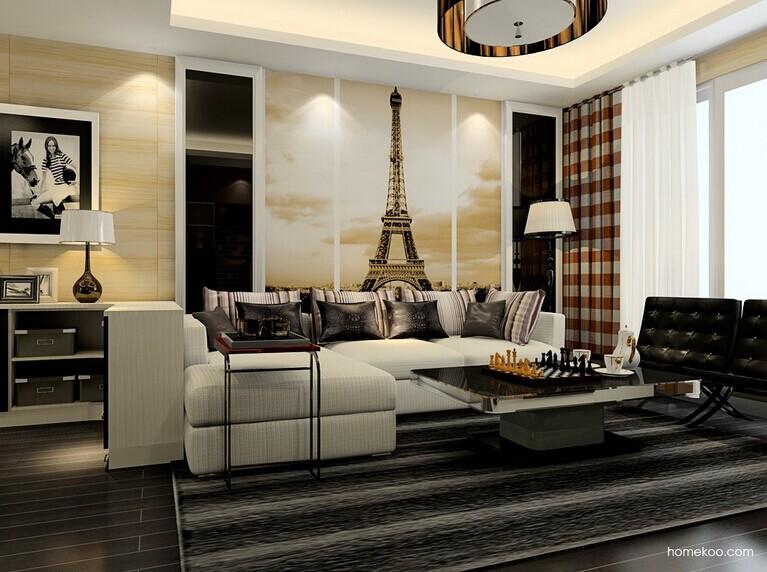 欧式沙发尺寸大小