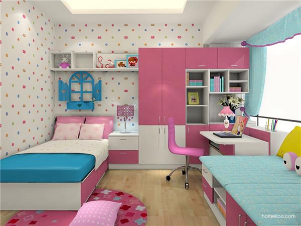 儿童卧室装潢设计的要点