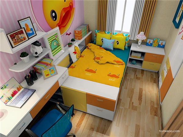 让孩子选择装修风格儿童房