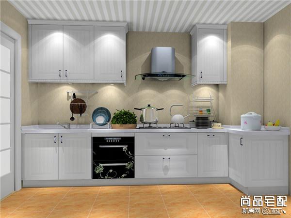 美式乡村风格厨房吊顶好看吗?
