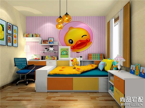 儿童整体卧室装修注意事项