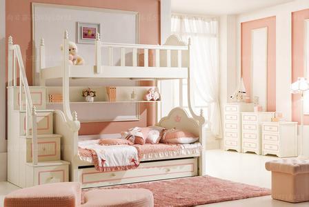 儿童实木双层床价格为多少