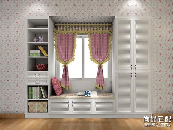 儿童房间带飘窗装修