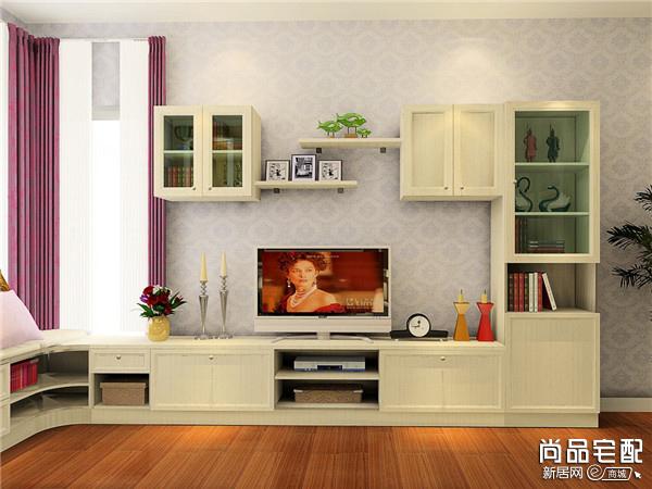 客厅电视柜的高度如何来进行确定