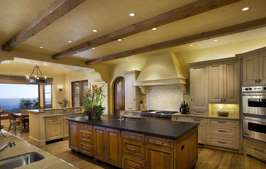 别墅厨房吊顶的设计和注意事项