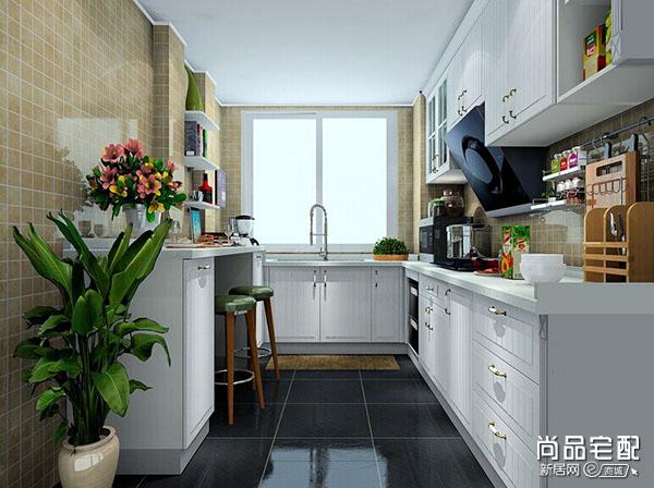 小厨房瓷砖颜色 经典搭配