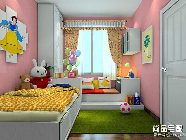 有飘窗的儿童房怎么设计