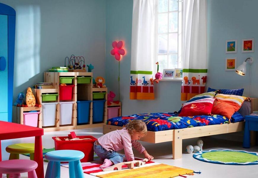 宜家儿童房样板间效果如何