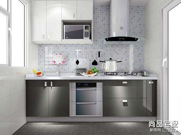 2015小户型厨房布局装修效果图大全
