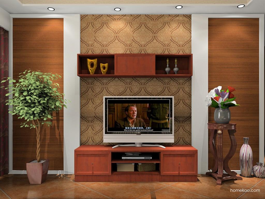 中式客厅电视背景墙的装修禁忌