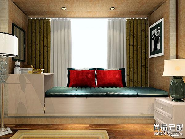 在颜色上卧室窗帘怎么选