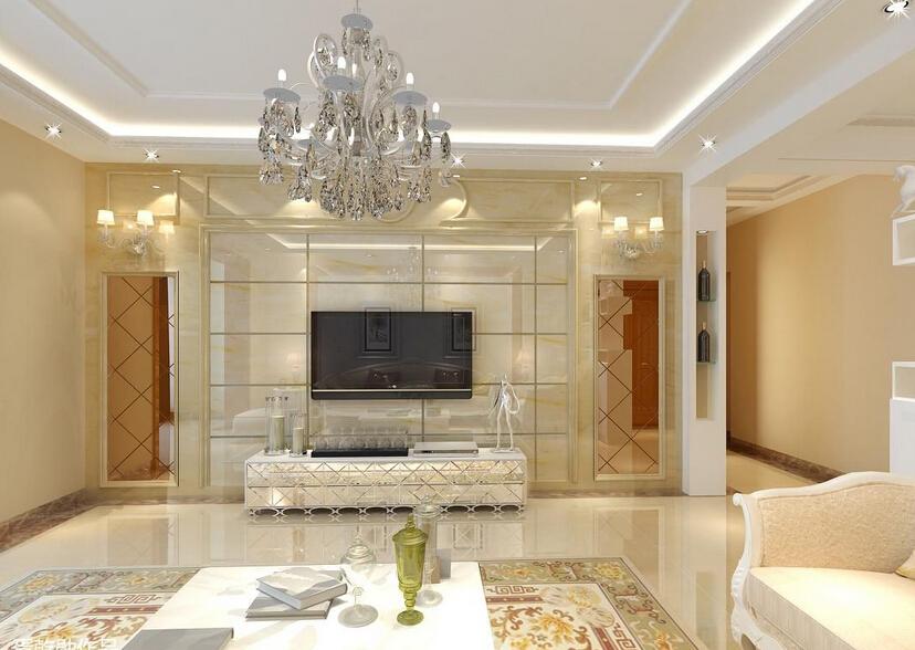 客厅墙面贴瓷砖的好处
