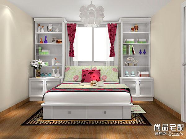 简欧式卧室吊顶设计大图欣赏