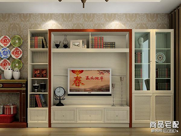 欧式客厅电视柜的尺寸设计