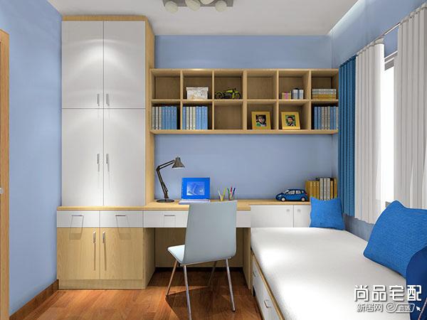 小书房书柜设计
