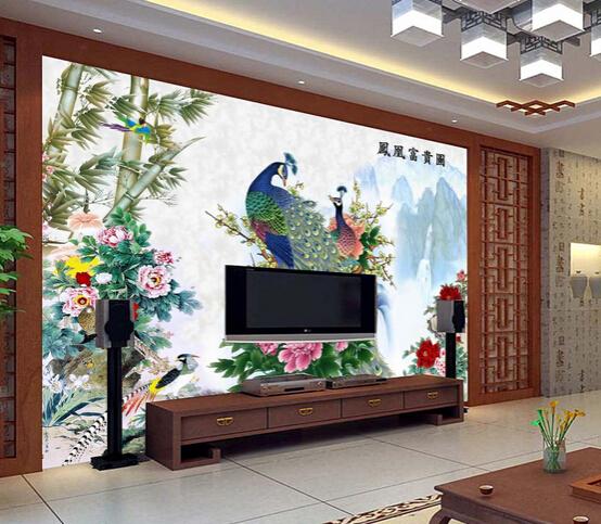 彩绘瓷砖背景墙的优点