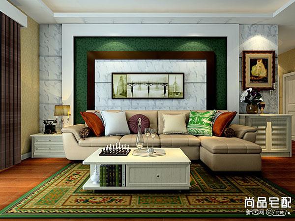 电视背景墙壁画 提升客厅氛围