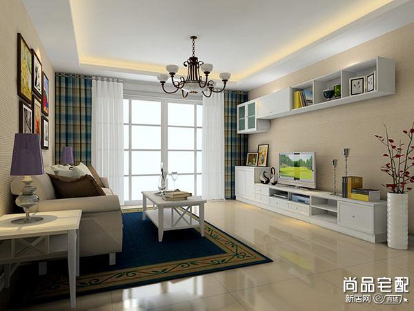 现代装修风格客厅讲解