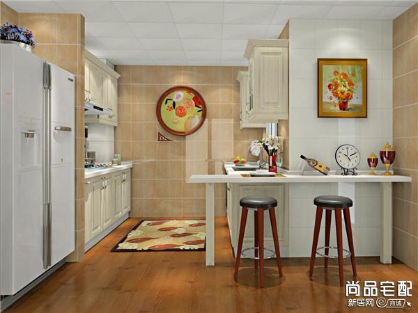 厨房吧台的高度