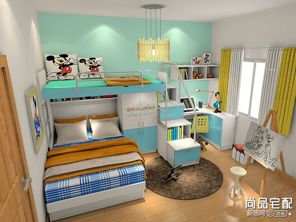 小户型儿童房设计6点细节