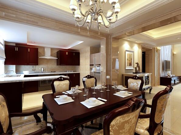 欧式风格餐厅,超高的用餐享受
