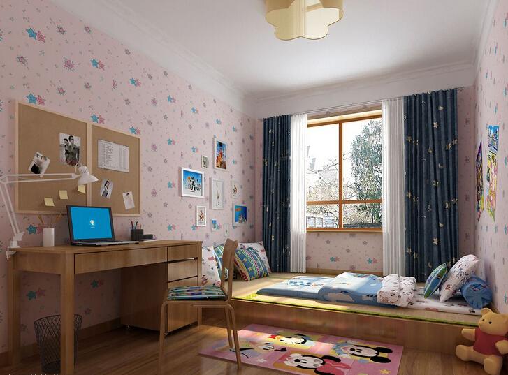 日式儿童房装修